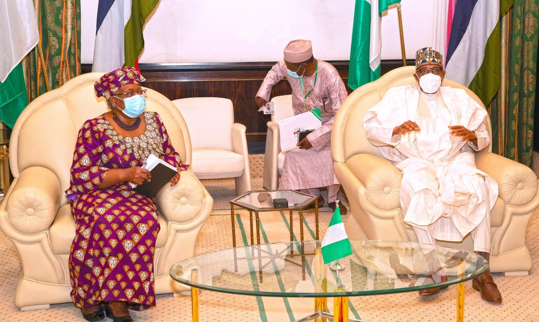 World Trade Organization:  We are happy you made it but you also earned it - President Buhari tells Ngozi Okonjo-Iweala