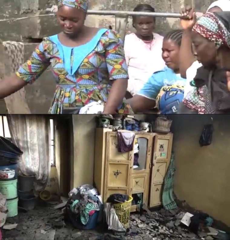 Mother and her 4 children die in fire caused by candlelight in Kwara state (virus)