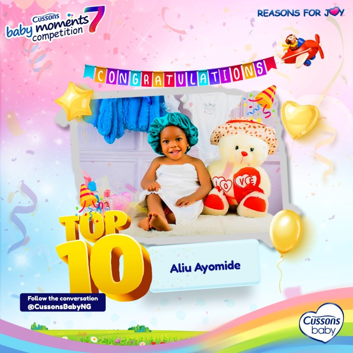 Cussons Baby Moments Season 7 - Meet the Top 10 finalists!