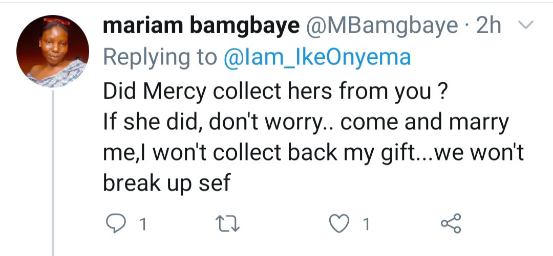 """Did Mercy collect something?"" Fans mock Ike as he says men aren"