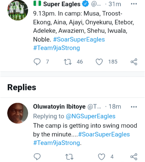 Troost-Ekong, Etebo, Ajayi, Iwobi, Musa arrive Super Eagles camp in Lagos ahead of Benin and Lesotho games