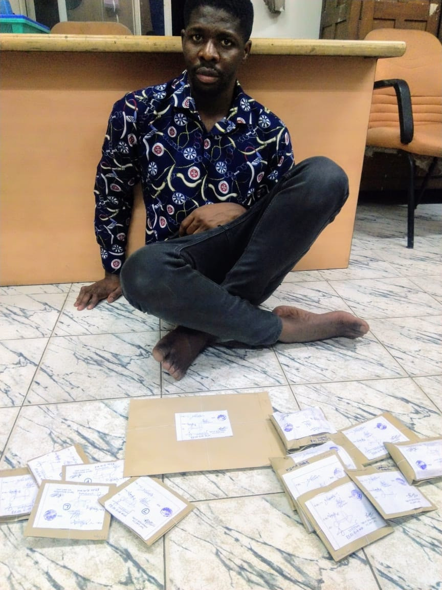 28-year-old Nigerian national arrested in India with 169 grams of cocaine and ecstasy