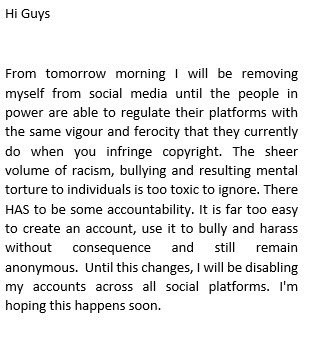 Thierry Henry to quit social media until the platforms tackle online abuse