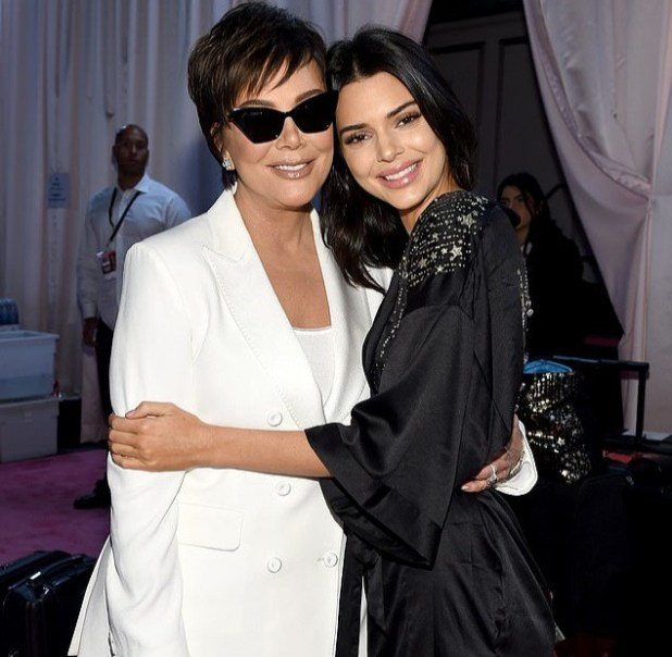Kendall Jenner shuts down pregnancy speculation sparked by her mother