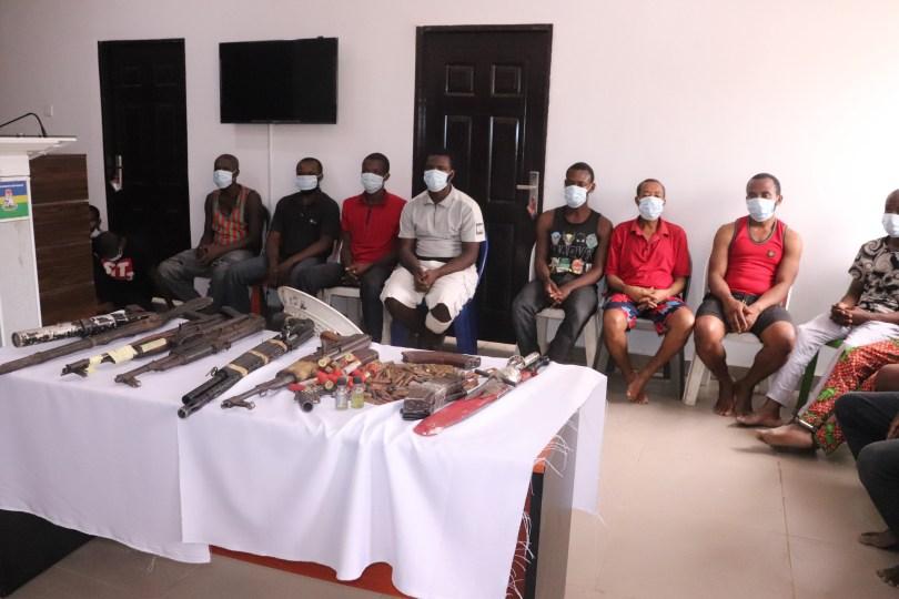 Police arrest 16 suspects linked to killings of security operatives across the country (photos)