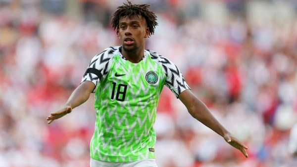 Update: Alex Iwobi tests negative for Covid-19 ahead of Nigeria?s Afcon qualifier against Lesotho