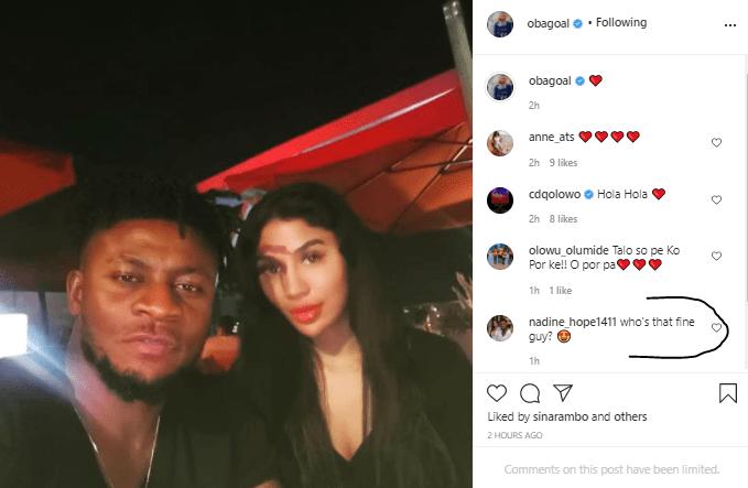 Looks like footballer, Obafemi Martins has found love again