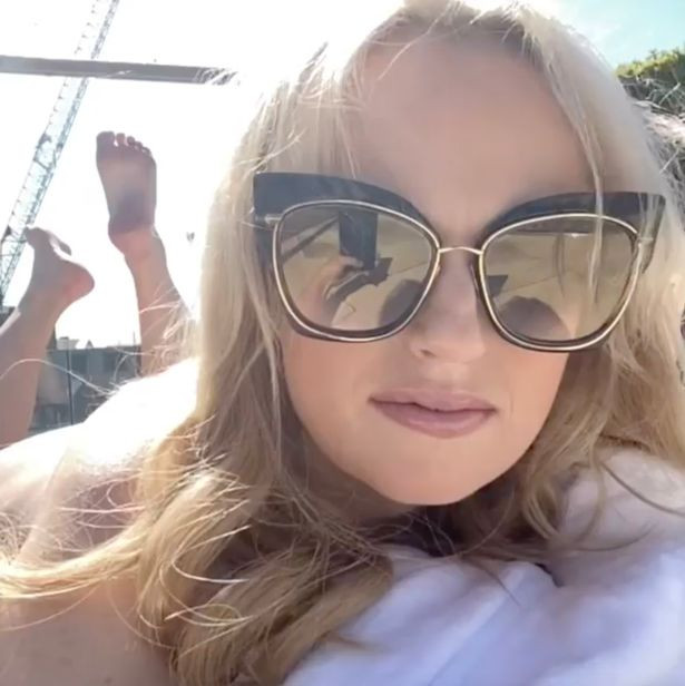 Rebel Wilson sunbathes in the nude after her split from millionaire ex Jacob Busch