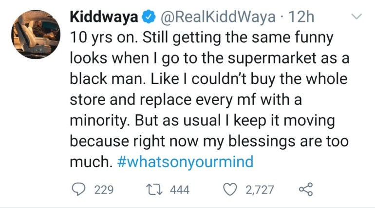 """I get funny looks when I go to the supermarket as a black man"" BBNaija star, Kiddwaya complains about experiencing racism abroad"