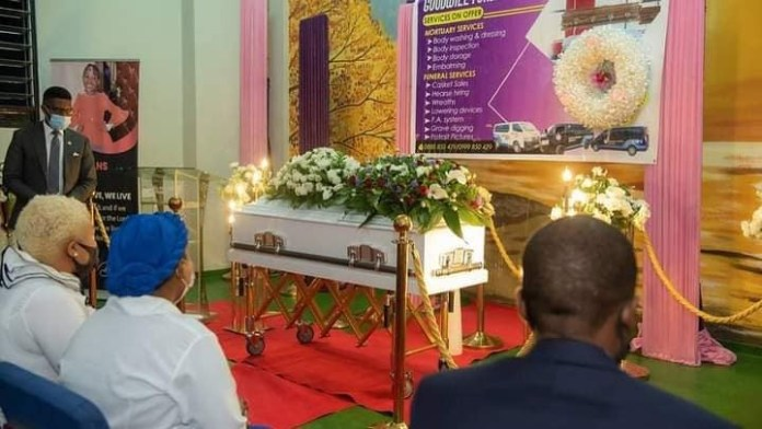 Photos from the funeral of Prophet Bushiri