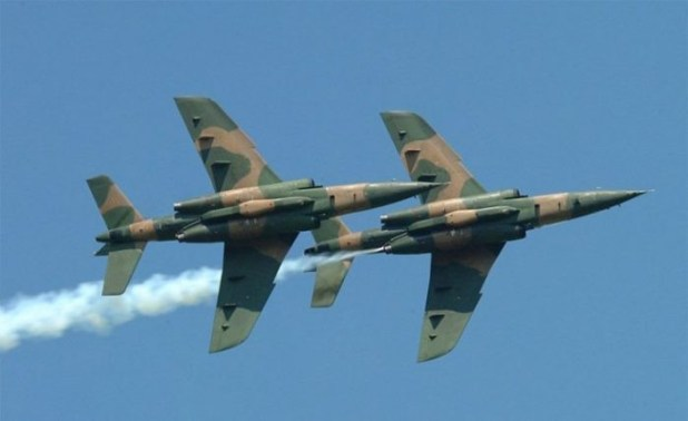 Nigeria Air Force dismisses video released by Boko Haram members claiming it brought down the missing fighter jet