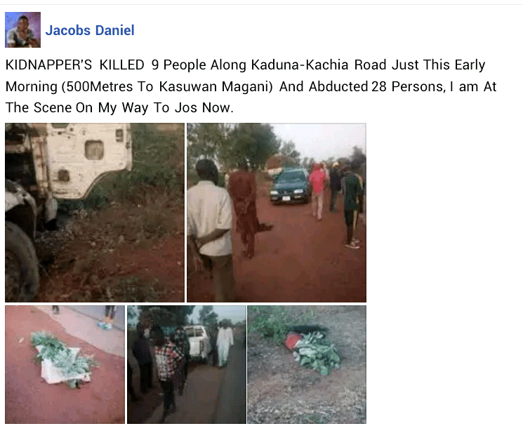 Eight killed, four injured as bandits open fire on travellers, attack Kaduna communities