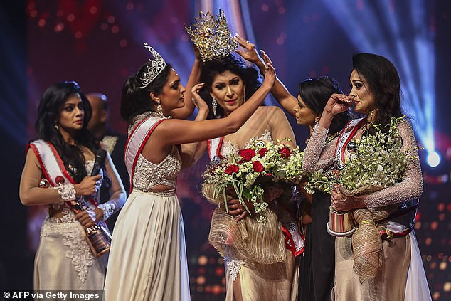 Mrs. World released on bail after her arrest for allegedly injuring Mrs. Sri Lanka when she ripped crown from her head on stage