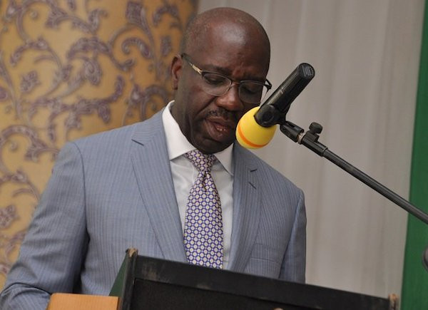 Last month the federal government printed additional 50 to 60 billion  Naira for states to share - Governor Godwin Obaseki (video)