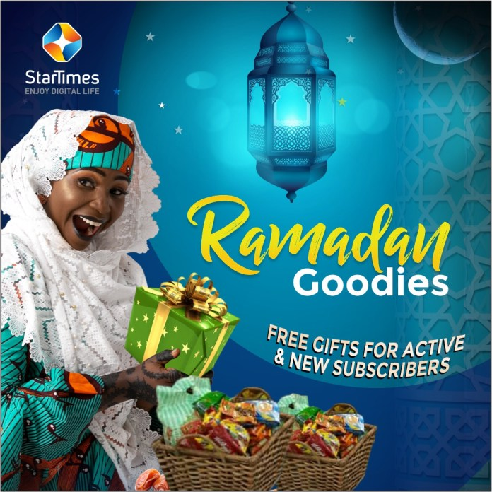 StarTimes Dishes Out Ramadan Goodies to New & Active Subscribers, Nollywood Movies @N900 Monthly