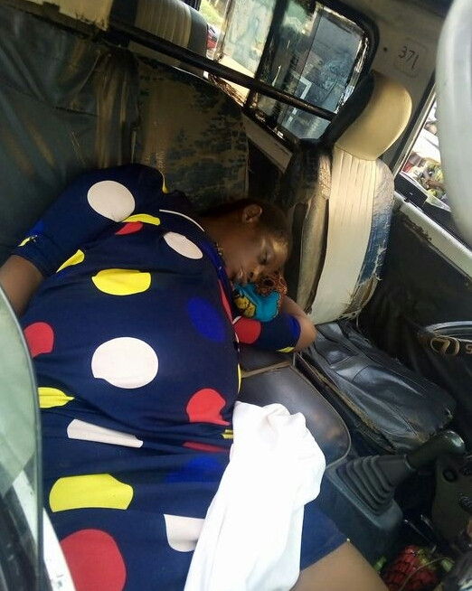 Unidentified woman dies inside commercial bus in Anambra (photos)
