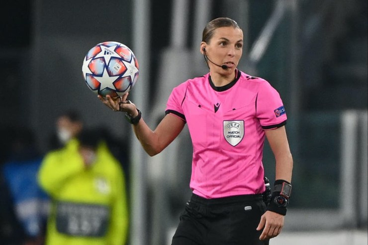 Stephanie Frappart named as first woman to officiate at men?s European Championships