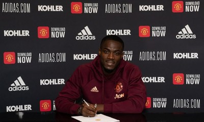 Manchester United defender, Eric Bailly signs new contract