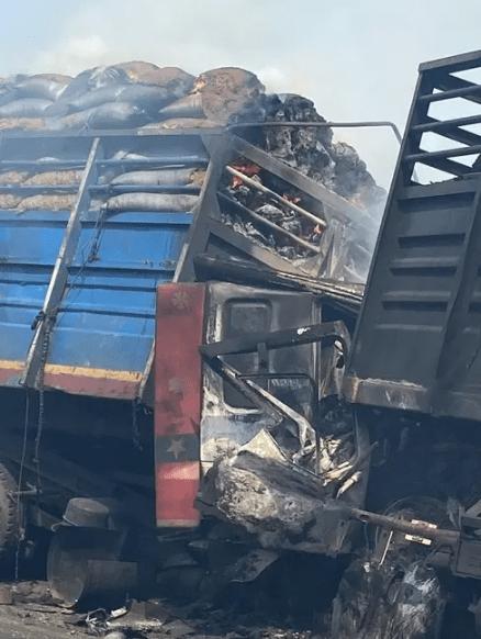 Man burnt to death in Kwara accident