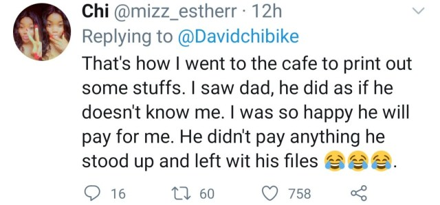 Nigerians share hilarious experience they had growing up with their fathers