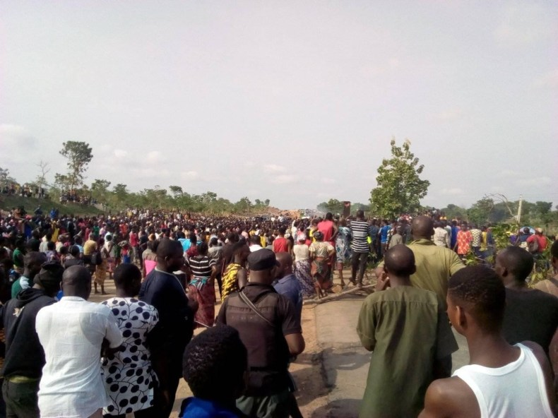 Protest in Benue over brutal killing of ten IDPs by suspected Fulani herdsmen