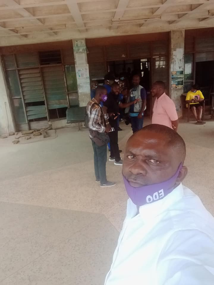 """Edo community youth leader allegedly assaults physically challenged man for addressing him by his name instead of """"chairman"""""""