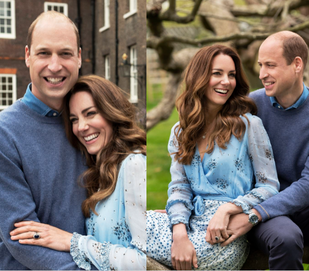Kate and William celebrate 10th wedding anniversary by releasing loving pictures