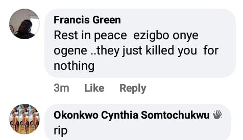 Singer, Ogene Malaysia allegedly shot dead by unknown gunmen in Anambra