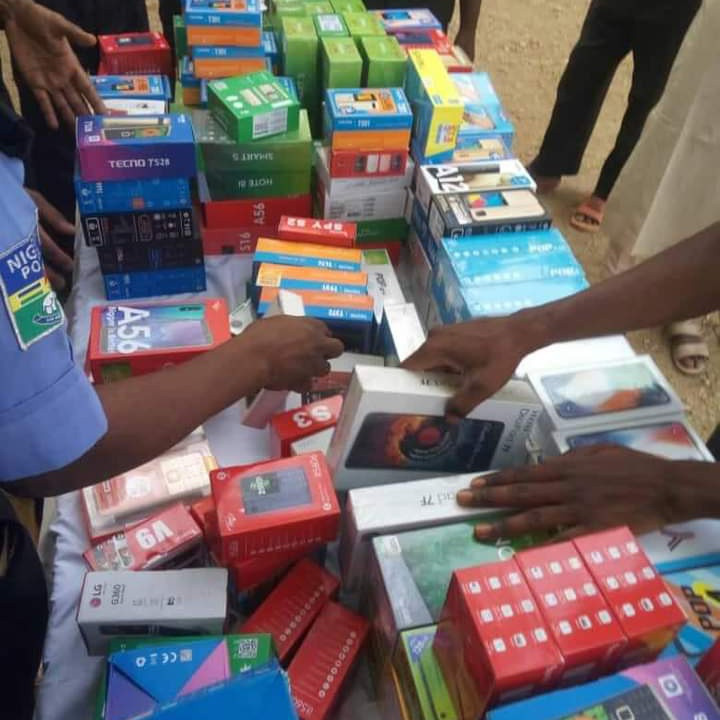 Police arrest ex-convict who stole 273 phones worth N15m in Katsina