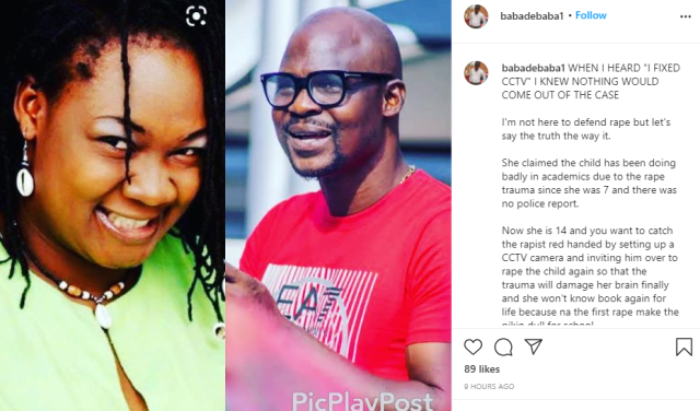 """Baba Ijesha rape saga: When I heard """"I fixed CCTV"""" I knew nothing will come out of the case - Comedian Baba De Baba mocks Princess and others"""