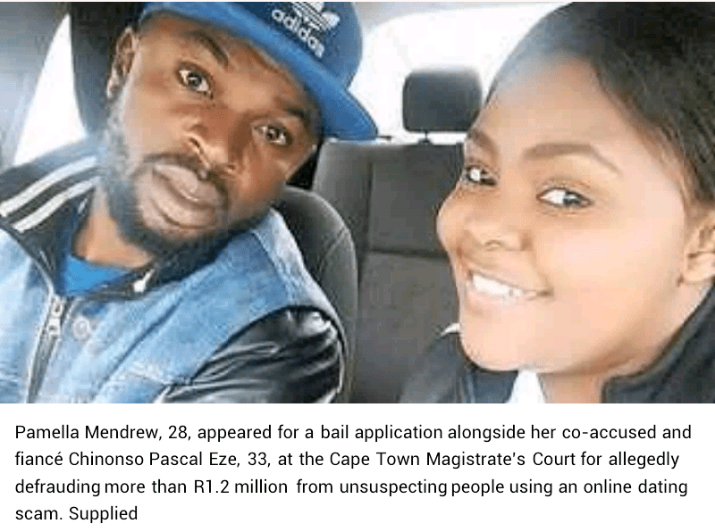 Nigerian man sentenced to 20 years imprisonment in South Africa for conning women out of over N26m in online dating scam