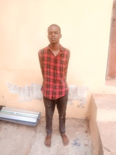 Suspected ritualist with fresh human head and hands arrested by police in Kwara,