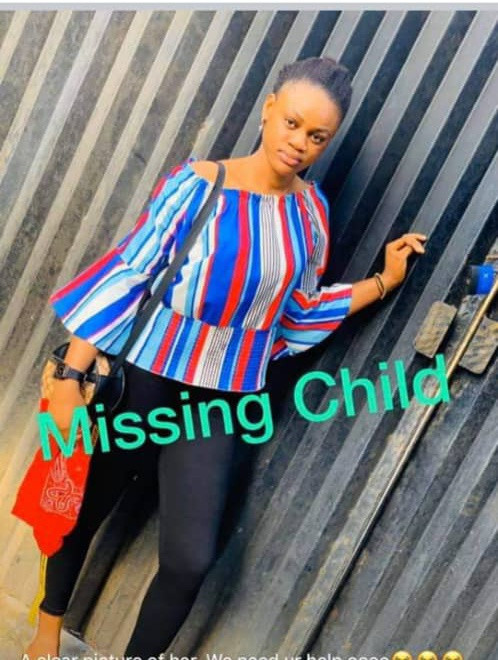 15-year-old girl declared missing by her family
