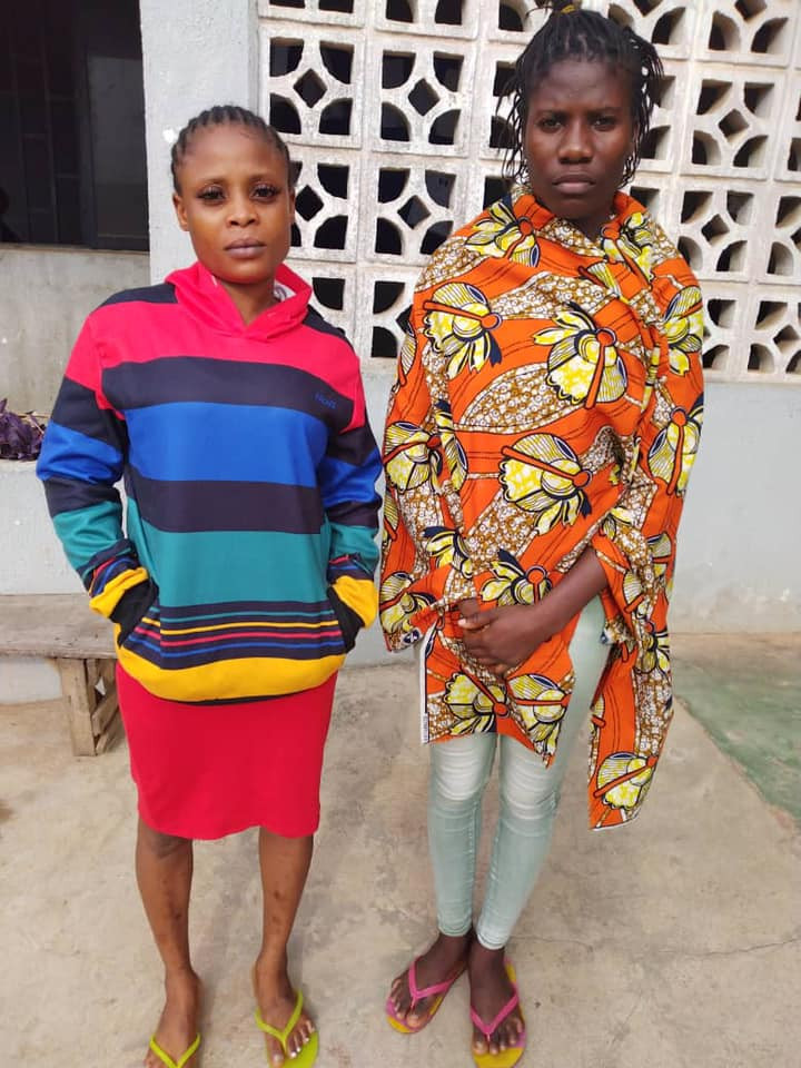 80-year-old woman, her granddaughter and 2 others arrested with 192kg cocaine, heroin, skuchies in Ondo (photos)
