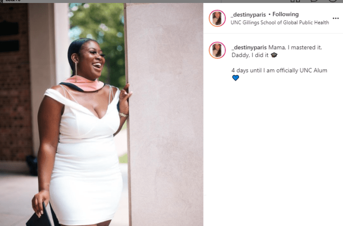 Woman who received $50,000 scholarship in Drake?s ?God?s Plan? video celebrate as she