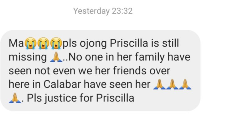 Update: Friends insist UNICROSS student is missing, say video she posted online was done under duress