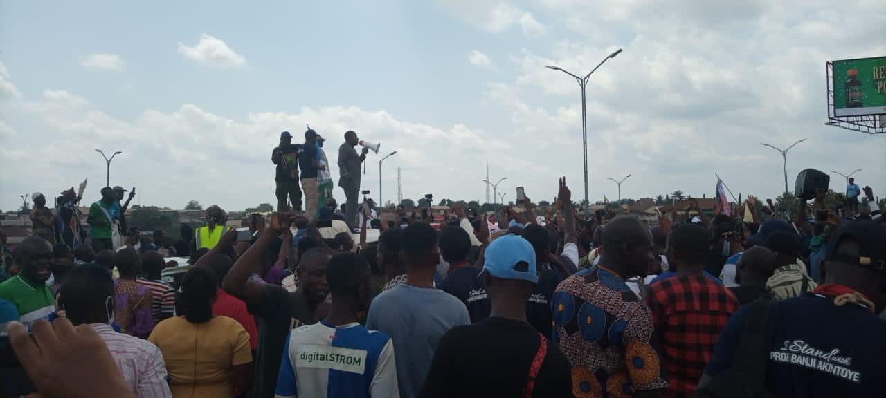 Activist Sunday Igboho storms Osogbo for Yoruba Nation rally (photos)