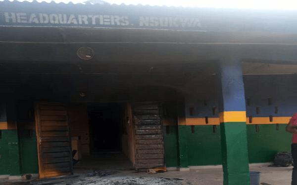 Three police officers allegedly feared dead as gunmen raze Delta police station