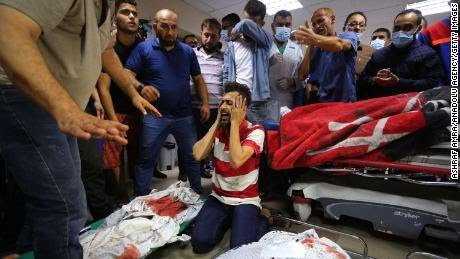 Scenes of horror unfold in Gaza as Israel-Palestinian conflict marks its deadliest day (photos)