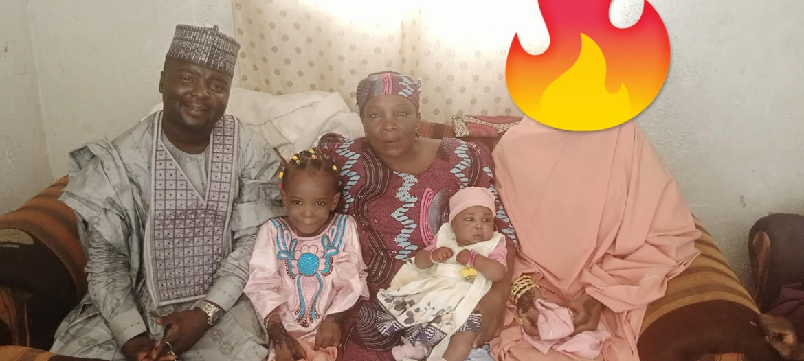 Nigerian Muslim man called out for covering his wife