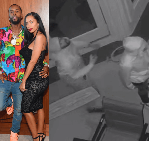 Safaree and Erica Mena reveal their house was robbed; share photos of the alleged robbers wearing their stolen items