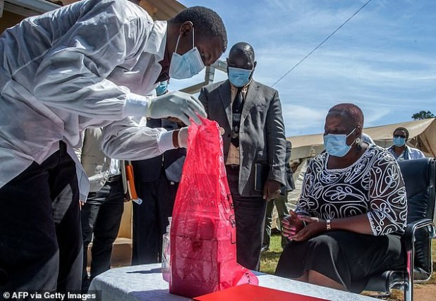 Malawi burns almost 20,000 expired AstraZeneca vaccines after receiving 100,000 donated doses?(photos)