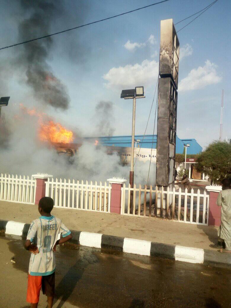 64 injured as petrol tanker explodes in Kano