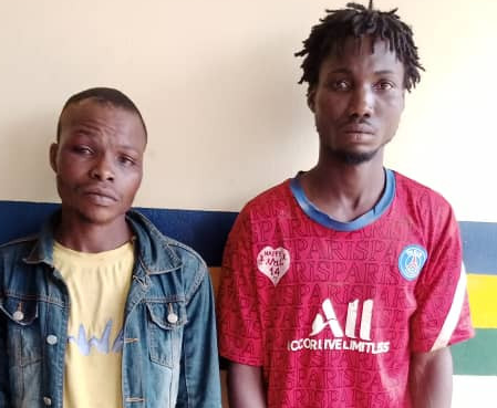 Two arrested for robbing a POS operator in Ogun