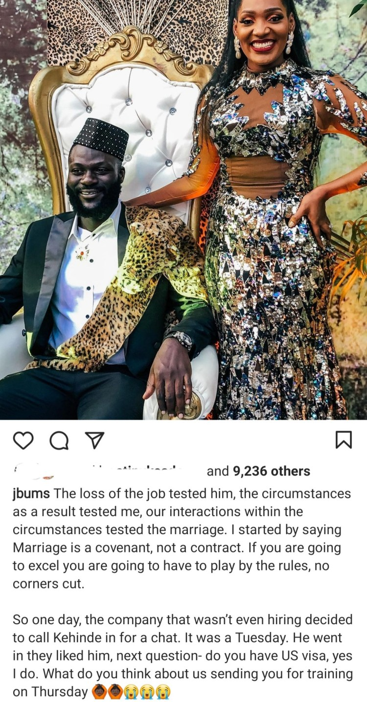 Fitness expert , Bunmi George narrates how her marriage was tested when her pilot husband lost his job 9 days after their second child was born