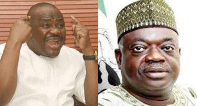 "Governor Nyesom Wike threatens to ""flog"" former Governor of Niger state, Babangida Aliyu for calling him a dictator (video)"