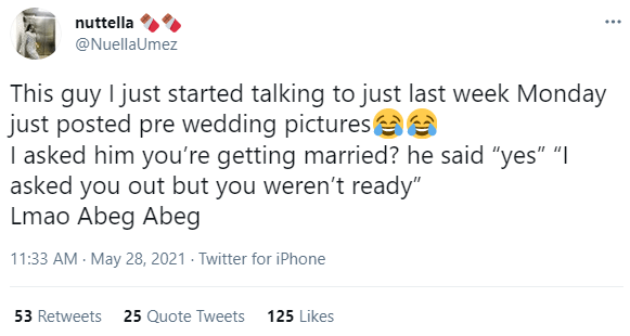 Man justifies posting pre-wedding photos one week after asking another woman out