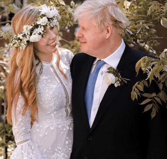 British Prime Minister, Boris Johnson, marries fianc?e, Carrie Symonds, in a secret ceremony