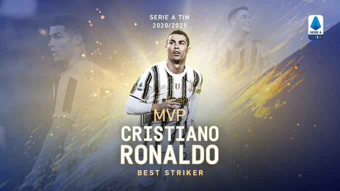 Cristiano Ronaldo awarded Serie A?s MVP Striker award