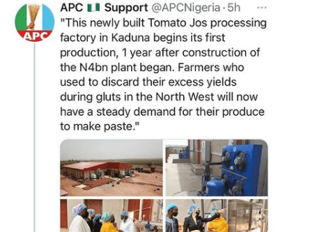 Woman calls out APC for using her tomato factory to score
